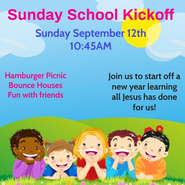 Sunday School Kickoff Block Party